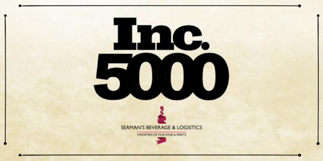 Seaman's Beverage and Logistics named to the 2018 Inc. 5000