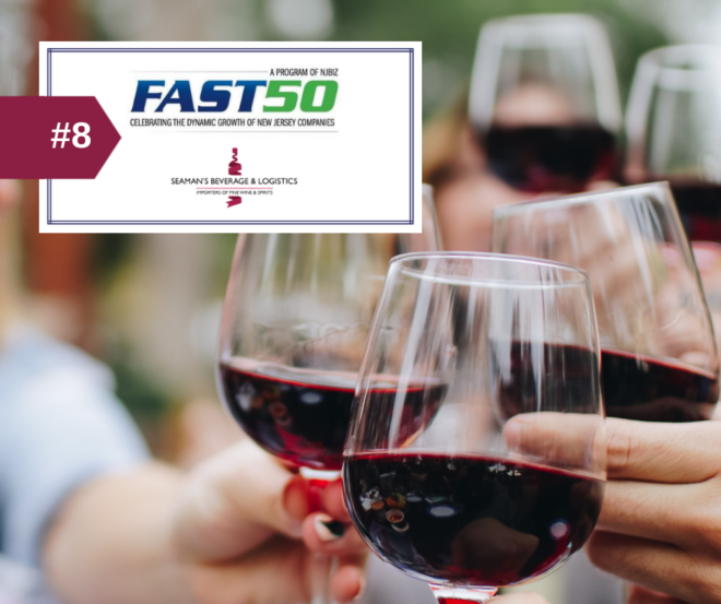NJBIZ Fast 50 2018 | Seaman's Beverage and Logistics
