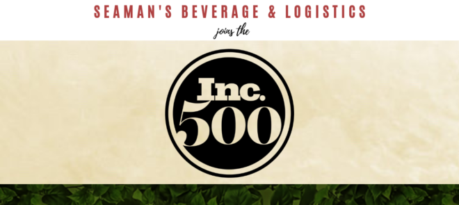 Seaman's Beverage & Logistics joins the Inc. 500