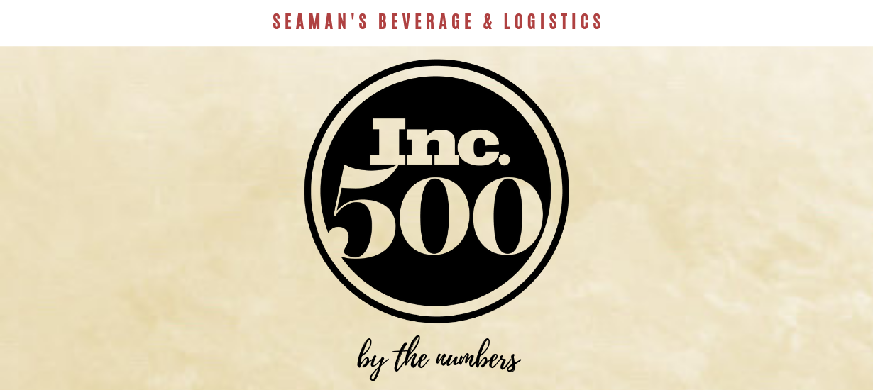Seaman's Beverage and Logistics by the numbers